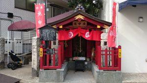 鳩森八幡神社 庚申塚