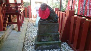 赤坂日枝神社 末社狛犬 (2)