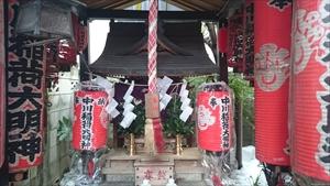 千代田稲荷-中川稲荷 社殿