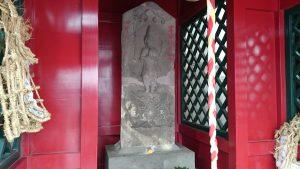 鳩森八幡神社 庚申塚 青面金剛像