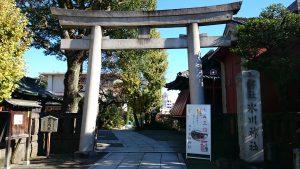 麻布氷川神社 鳥居