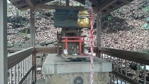 圓山随身稲荷大明神 社殿