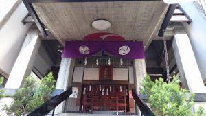 新橋烏森神社 拝所全景