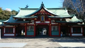 赤坂日枝神社 神門(内)