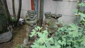 吉原神社 石像