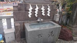 日比谷神社 手水場
