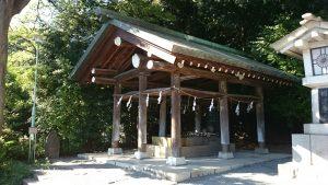 東郷神社 手水舎