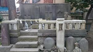小野照崎神社 庚申塚