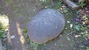麻布氷川神社 力石