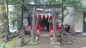 赤坂氷川神社 稲荷神社 (2)