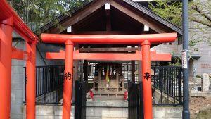 鳩森八幡神社 甲賀稲荷社