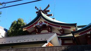 青山熊野神社 本殿