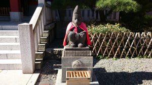 赤坂日枝神社 拝殿前神猿 (牡)