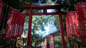赤坂日枝神社 裏参道(稲荷参道) (3)