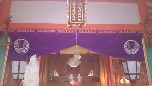 豐榮稲荷神社 殿内