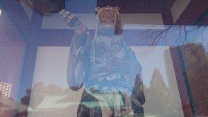 赤坂日枝神社 神門内側神猿 (牝)