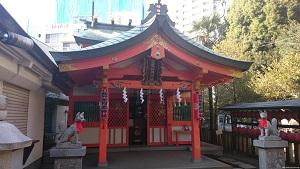 豐榮稲荷神社社殿