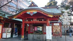神田神社 手水舎