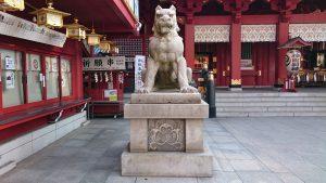 神田神社(神田明神) 狛犬 吽