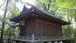 布多天神社 神楽殿