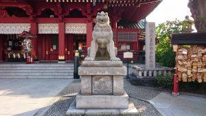 神田神社(神田明神) 狛犬 阿