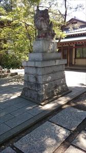 王子神社 狛犬 (1)