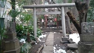 新橋塩竈神社 稲荷社 鳥居