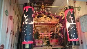 椙森神社 神輿