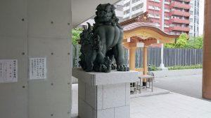 水天宮(東京日本橋) 狛犬 (1)