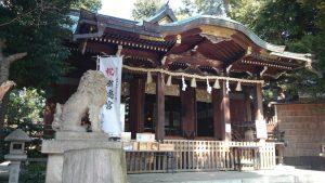 中目黒八幡神社 拝殿