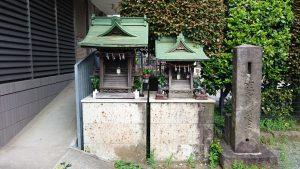 簸川神社 水神社・白宝稲荷神社