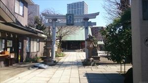 住吉神社 鳥居 (2)