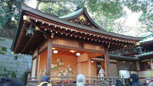 王子稲荷神社 神楽殿