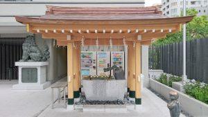 水天宮(東京日本橋)手水舎
