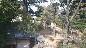 品川神社 境内