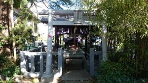 市谷亀岡八幡宮 出世稲荷神社
