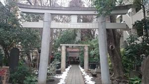 新橋塩竈神社 一の鳥居