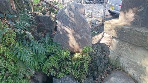 中目黒八幡神社 神泉碑