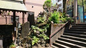 柳森神社 富士講関係石碑群