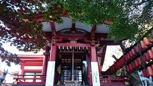 茶ノ木稲荷神社 拝殿