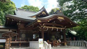 布多天神社 拝殿
