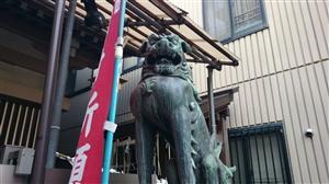 麻布十番稲荷神社 狛犬 (1)