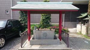 簸川神社 手水舎