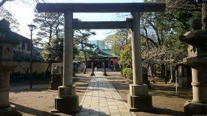 品川神社 二の鳥居
