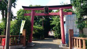 穴守稲荷神社 南側鳥居