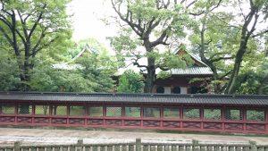 根津神社 社殿全景