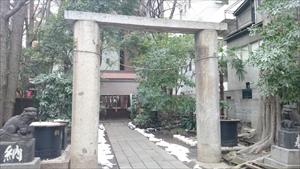 新橋塩竈神社 二の鳥居