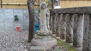 飯倉熊野神社 石仏