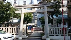 椙森神社 東鳥居