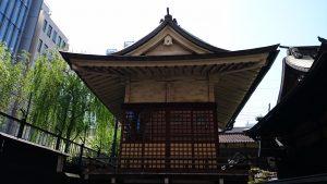 柳森神社 神楽殿